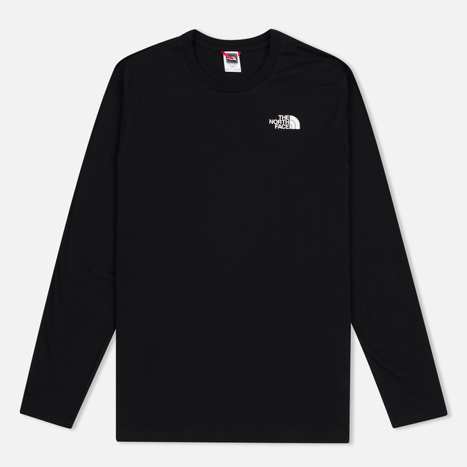 Мужской лонгслив The North Face Easy LS Black/White