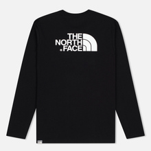 Мужской лонгслив The North Face Easy LS Black/White фото- 4