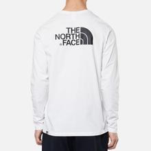 Мужской лонгслив The North Face Easy LS TNF White фото- 3