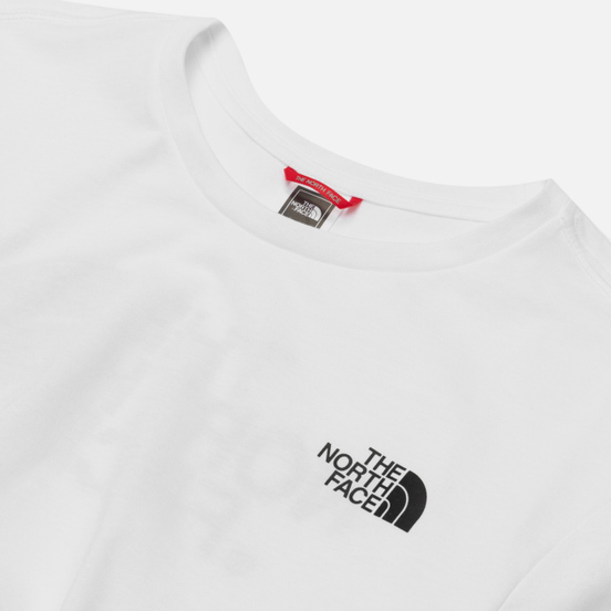 Мужской лонгслив The North Face Easy LS TNF White