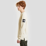Мужской лонгслив The North Face Fine 2 Vintage White/TNF White фото- 2