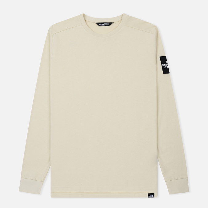 Мужской лонгслив The North Face Fine 2 Vintage White/TNF White