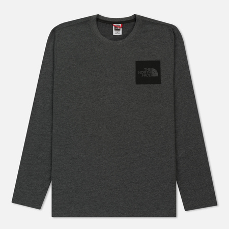 Мужской лонгслив The North Face L/S Fine TNF Dark Heather Grey