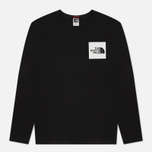 Мужской лонгслив The North Face L/S Fine TNF Black фото- 0