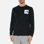 Мужской лонгслив The North Face L/S Fine TNF Black фото- 2