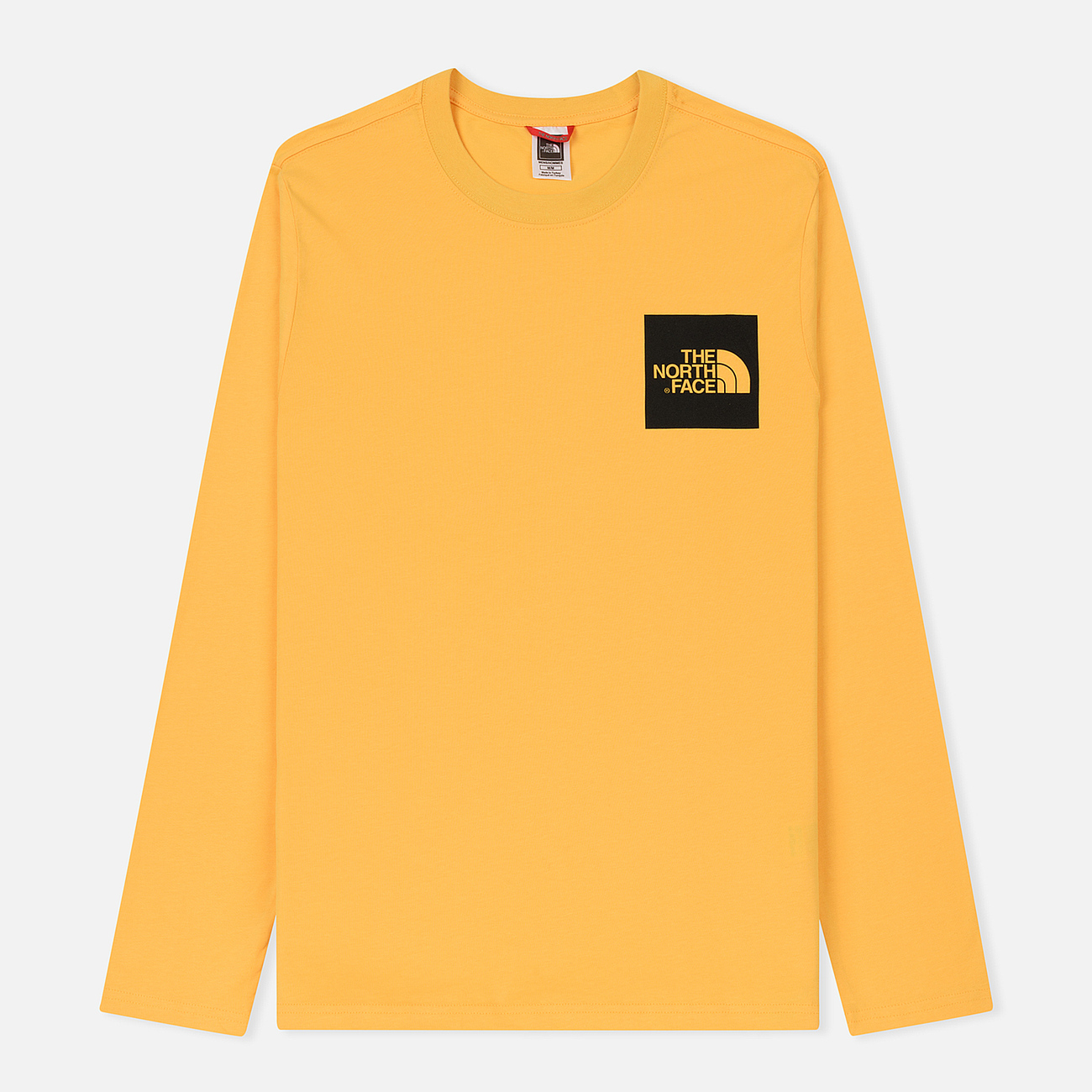 Мужской лонгслив The North Face L/S Fine TNF Yellow