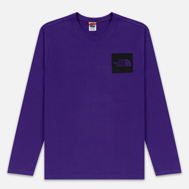 Мужской лонгслив The North Face L/S Fine Hero Purple