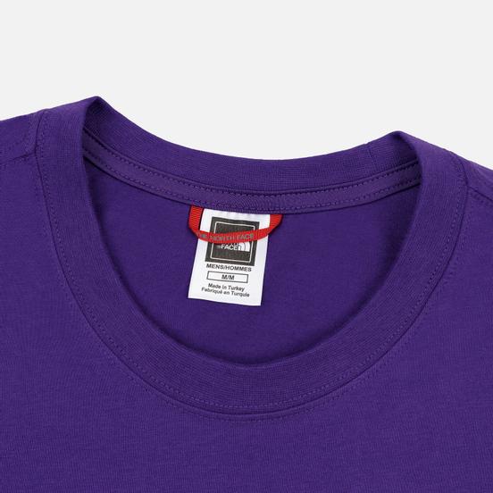 Мужской лонгслив The North Face L/S Fine Hero Purple