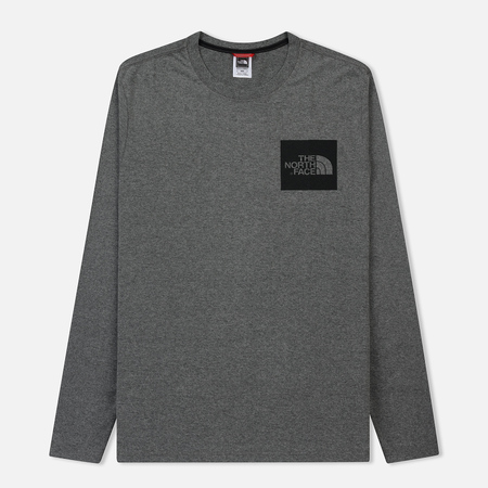 Мужской лонгслив The North Face L/S Fine Medium Grey Heather