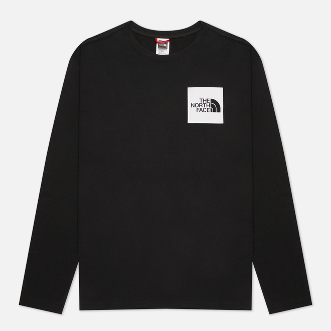 Мужской лонгслив The North Face L/S Fine TNF Black/TNF White