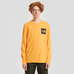 Мужской лонгслив The North Face L/S Fine Zinnia Orange фото- 1