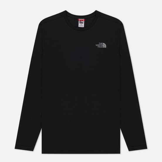 Мужской лонгслив The North Face LS Easy TNF Black/Zinc Grey