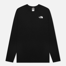 Мужской лонгслив The North Face LS Red Box TNF Black фото- 0