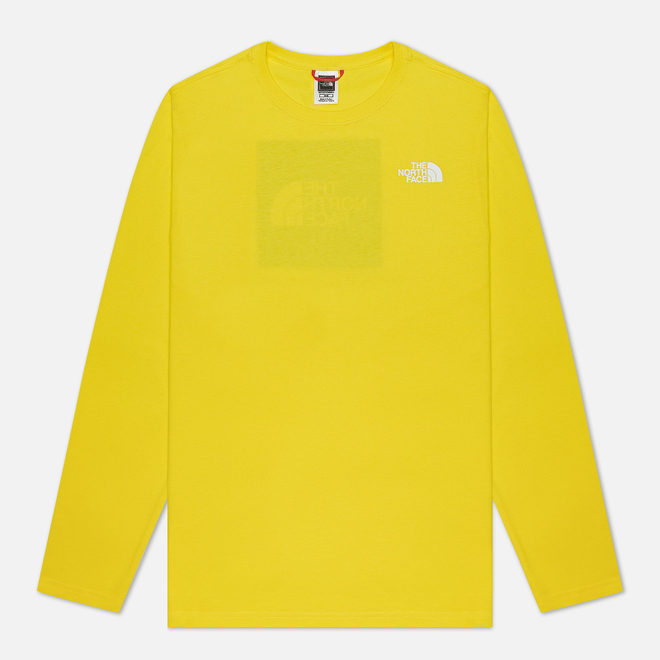 Мужской лонгслив The North Face LS Red Box TNF Lemon