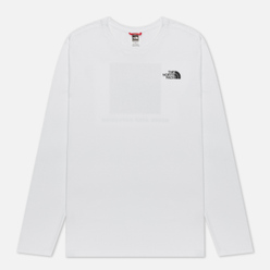 Мужской лонгслив The North Face LS Red Box TNF White