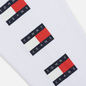 Мужской лонгслив Tommy Jeans Flag Repeat Classic White фото - 5