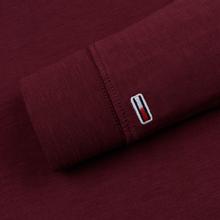 Мужской лонгслив Tommy Jeans Sleeve Logo Burgundy фото- 3
