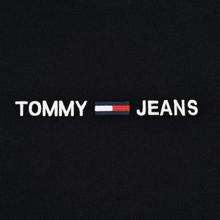 Мужской лонгслив Tommy Jeans Small Logo Black фото- 2