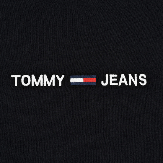Мужской лонгслив Tommy Jeans Small Logo Black
