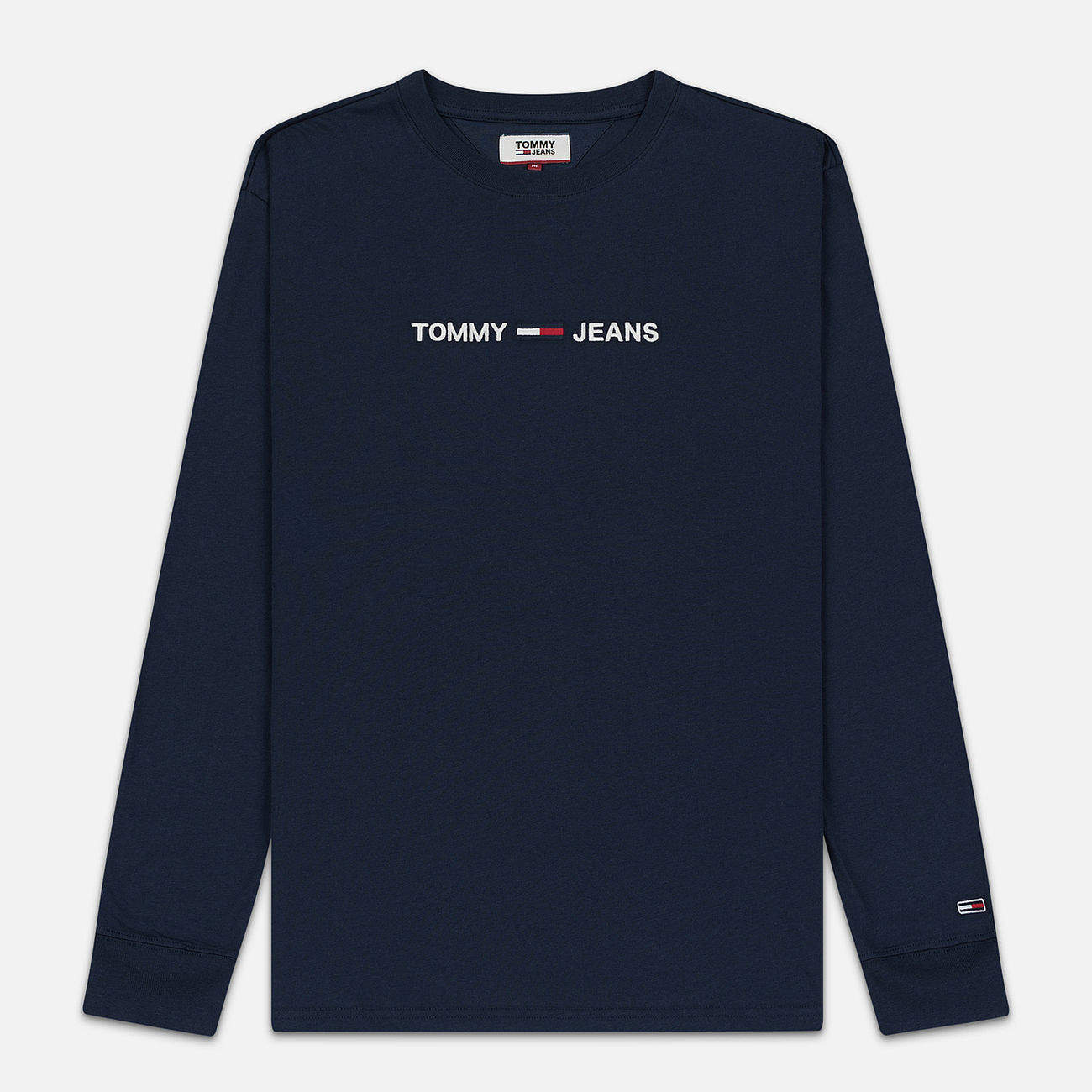 Мужской лонгслив Tommy Jeans Small Logo Black Iris