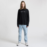 Мужской лонгслив Tommy Jeans Small Text Black фото- 1