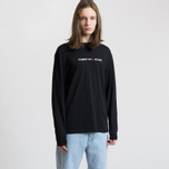 Мужской лонгслив Tommy Jeans Small Text Black фото- 2