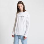 Мужской лонгслив Tommy Jeans Small Text Classic White фото- 2