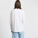 Мужской лонгслив Tommy Jeans Small Text Classic White фото- 4