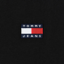 Мужской лонгслив Tommy Jeans Tommy Badge Black фото- 2