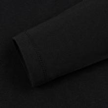 Мужской лонгслив Tommy Jeans Tommy Badge Black фото- 3