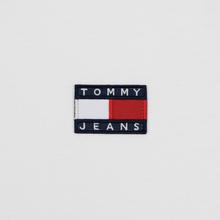 Мужской лонгслив Tommy Jeans Tommy Badge Classic White фото- 2