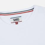 Мужской лонгслив Tommy Jeans Tommy Classics White фото- 1