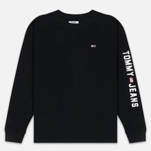 Мужской лонгслив Tommy Jeans US Flag Black фото- 0