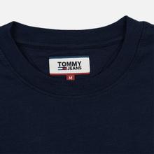 Мужской лонгслив Tommy Jeans USA Mountain Logo Relaxed Fit Black Iris фото- 1