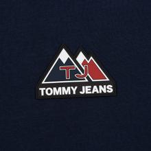 Мужской лонгслив Tommy Jeans USA Mountain Logo Relaxed Fit Black Iris фото- 2