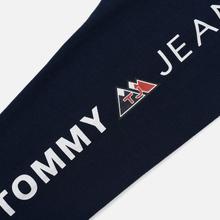 Мужской лонгслив Tommy Jeans USA Mountain Logo Relaxed Fit Black Iris фото- 3