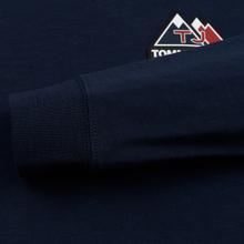 Мужской лонгслив Tommy Jeans USA Mountain Logo Relaxed Fit Black Iris фото- 4