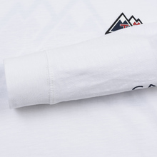 Мужской лонгслив Tommy Jeans USA Mountain Logo Relaxed Fit Classic White фото- 4