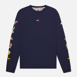 Мужской лонгслив Tommy Jeans x Looney Tunes Dark Ink