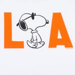 Мужской лонгслив TSPTR Snoopy LA Raglan Royal White фото- 2