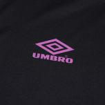 Мужской лонгслив Umbro Pro Training Spartak LS Black/Purple/Green фото- 2