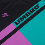 Мужской лонгслив Umbro Pro Training Spartak LS Black/Purple/Green фото- 3