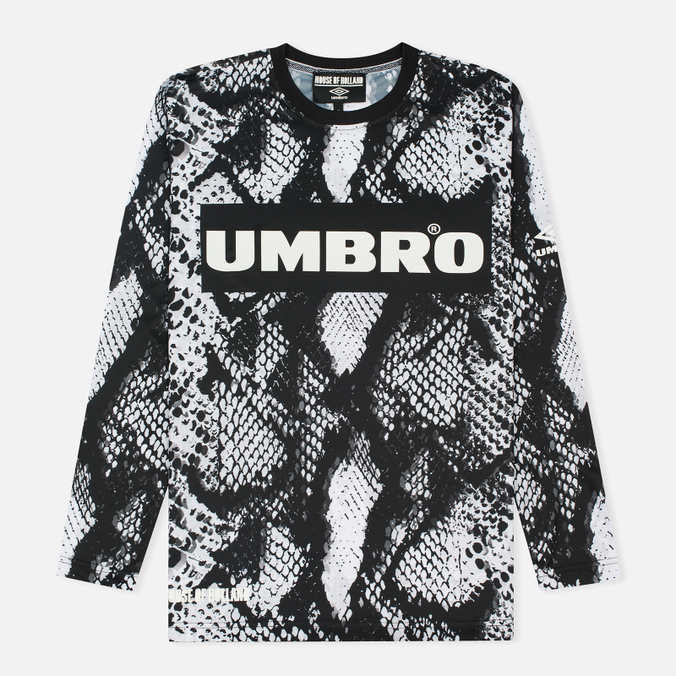 Мужской лонгслив Umbro x House Of Holland Snake LS Football Top Black/White