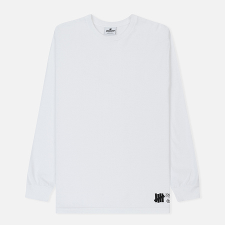 Мужской лонгслив Undefeated Lab Set White