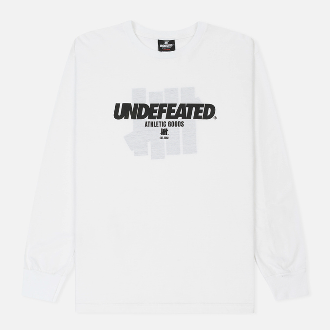 Мужской лонгслив Undefeated Reloaded LS White