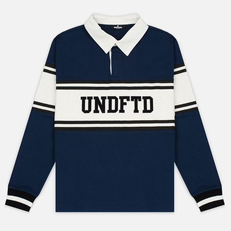 Мужской лонгслив Undefeated Rugby LS Navy/White