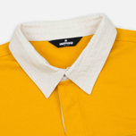 Мужской лонгслив Undefeated Rugby LS Yellow/White фото- 1