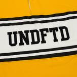 Мужской лонгслив Undefeated Rugby LS Yellow/White фото- 2