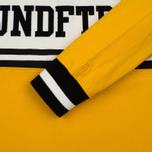 Мужской лонгслив Undefeated Rugby LS Yellow/White фото- 3