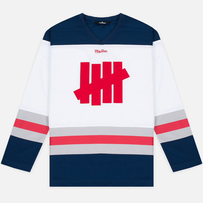 Мужской лонгслив Undefeated Shultz LS Jersey White